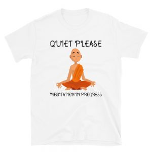 """Quiet Please…"" Short-Sleeve Unisex T-Shirt"