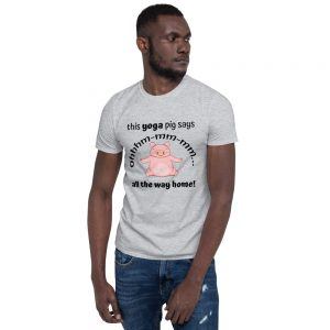 """This Yoga Pig"" Short-Sleeve Unisex T-Shirt"