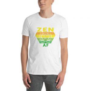 """Zen AF"" Short-Sleeve Unisex T-Shirt"