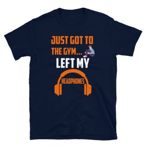 """Left My Headphones"" Short-Sleeve Unisex T-Shirt"