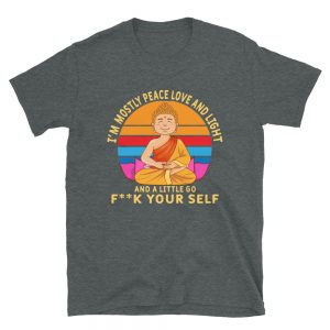 """And a Little Go F**K Yourself"" Short-Sleeve Unisex T-Shirt"