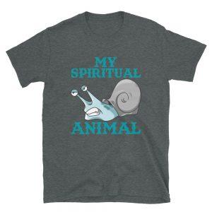 """My Spiritual Animal"" Snail Short-Sleeve Unisex T-Shirt"