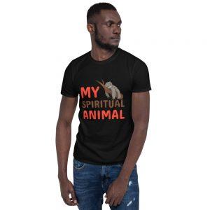 """""My Spiritual Animal"" Sloth Short-Sleeve Unisex T-Shirt"